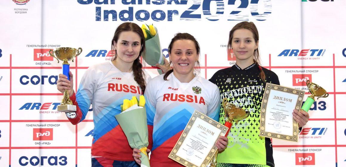 Результаты международных соревнований Saransk Indoor 7−8 марта
