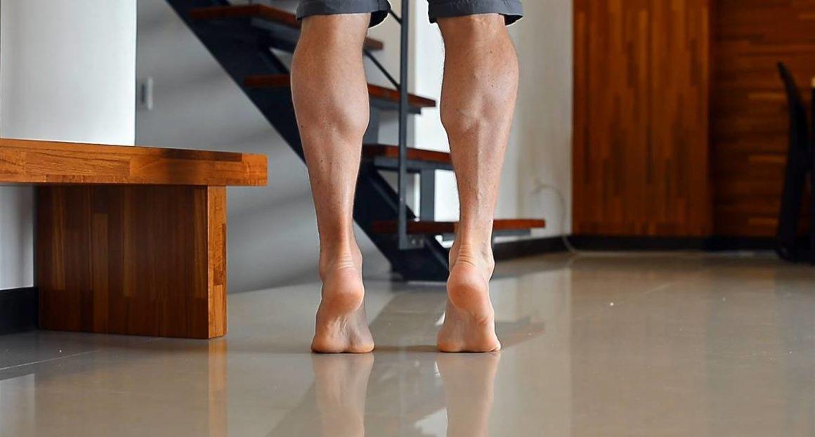 Как накачать мышцы голени?