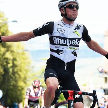 Фаворитом 11-го этапа «Джиро д`Италия» стал известный швейцарский велогонщик Мауро Шмид
